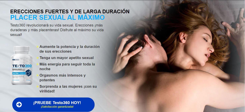Testo 360 Ecuador(Testo30) Opiniones,Precio,Pastillas Funciona&Comprar